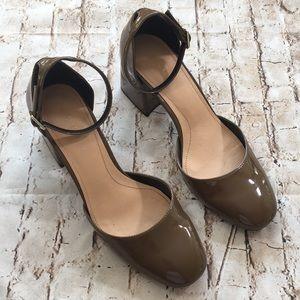 💙 Zara Patten Leather Heel